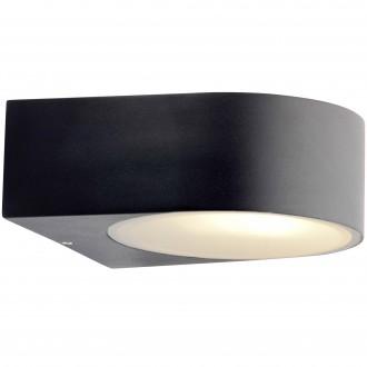 BRILLIANT 96104/06 | Tyler Brilliant falikar lámpa 1x E27 IP44 fekete