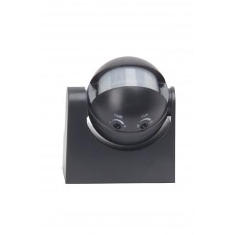 BRILLIANT 96193/06 | Brilliant mozgásérzékelő lámpa IP44 fekete