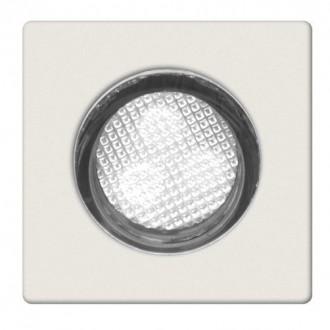 BRILLIANT G02893/82 | Asta30 Brilliant beépíthető lámpa 10 darabos szett Ø30mm 30x30mm 10x LED 10lm 7500K IP44 nemesacél, rozsdamentes acél, fehér