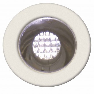 BRILLIANT G03090/75 | Cosa15 Brilliant beépíthető lámpa 10 darabos szett Ø15mm 15x15mm 10x LED 10lm 2700K IP44 nemesacél, rozsdamentes acél, meleg fehér