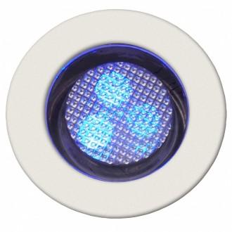 BRILLIANT G03093/73 | Cosa30 Brilliant beépíthető lámpa 10 darabos szett Ø30mm 30x30mm 10x LED IP44 nemesacél, rozsdamentes acél, kék