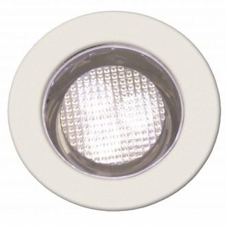 BRILLIANT G03093/75 | Cosa30 Brilliant beépíthető lámpa 10 darabos szett Ø30mm 30x30mm 10x LED 10lm 2700K IP44 nemesacél, rozsdamentes acél, meleg fehér