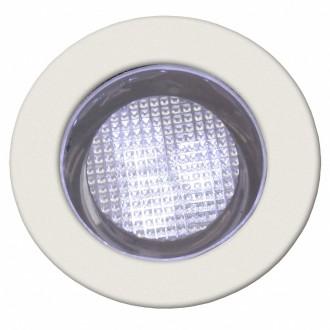BRILLIANT G03093/82 | Cosa30 Brilliant beépíthető lámpa 10 darabos szett Ø30mm 30x30mm 10x LED 10lm 7500K IP44 nemesacél, rozsdamentes acél, fehér