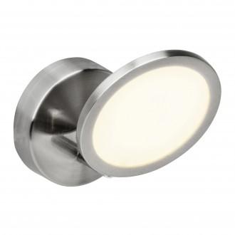 BRILLIANT G30510/13 | PlutoB Brilliant spot lámpa elforgatható alkatrészek 1x LED 500lm 3000K szatén nikkel
