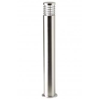 BRILLIANT G43285/82 | Finnigan Brilliant álló lámpa henger 80cm 1x E27 IP44 króm, átlátszó