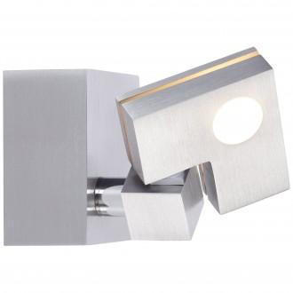 BRILLIANT G72510/21 | 90-Degree Brilliant mennyezeti lámpa érintőkapcsoló elforgatható alkatrészek 1x LED 380lm 3000K alumínium