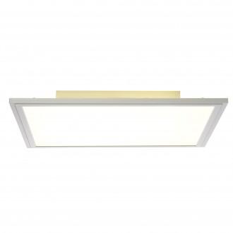 BRILLIANT G90037/13   Flat-BRI Brilliant mennyezeti lámpa 1x LED 2550lm 3000K alumínium, fehér