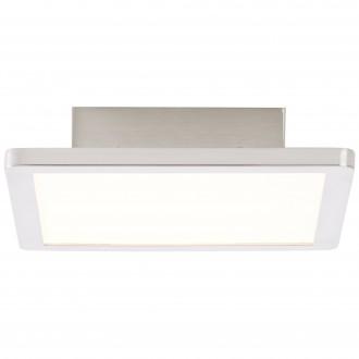BRILLIANT G90116/13 | Scope-BRI Brilliant mennyezeti lámpa 1x LED 950lm 3000K matt nikkel, fehér