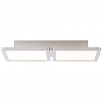 BRILLIANT G90117/13 | Scope-BRI Brilliant mennyezeti lámpa 1x LED 1800lm 3000K matt nikkel, fehér
