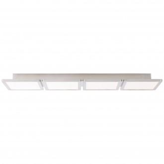 BRILLIANT G90118/13 | Scope-BRI Brilliant mennyezeti lámpa 1x LED 3300lm 3000K matt nikkel, fehér