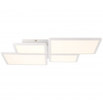 BRILLIANT G90123/05 | Scope-BRI Brilliant mennyezeti lámpa távirányító szabályozható fényerő 1x LED 4400lm 3000K fehér