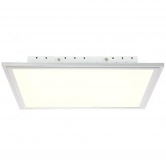 BRILLIANT G90326/21 | Flat-WiZ Brilliant mennyezeti lámpa szabályozható fényerő 1x LED 2500lm 2700 <-> 6200K alumínium, fehér