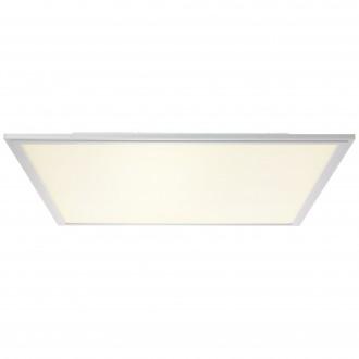 BRILLIANT G90327/21 | Flat-WiZ Brilliant mennyezeti lámpa szabályozható fényerő 1x LED 3310lm 2700 <-> 6200K alumínium, fehér