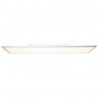BRILLIANT G90328/21 | Flat-WiZ Brilliant mennyezeti lámpa szabályozható fényerő 1x LED 3650lm 2700 <-> 6200K alumínium, fehér