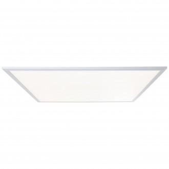 BRILLIANT G90370/21 | Flat-WiZ Brilliant mennyezeti lámpa szabályozható fényerő 1x LED 4800lm 2700 <-> 6200K alumínium, fehér