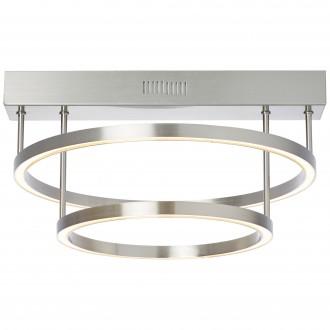BRILLIANT G93448/68 | Tunar Brilliant mennyezeti lámpa fényerőszabályzós kapcsoló 1x LED 2100lm 3000K szatén nikkel