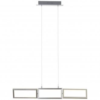 BRILLIANT G93450/21 | Tunar Brilliant függeszték lámpa fényerőszabályzós érintőkapcsoló elforgatható alkatrészek 1x LED 2100lm 3000K alumínium