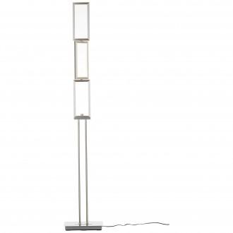 BRILLIANT G93453/21 | Tunar Brilliant álló lámpa 157cm fényerőszabályzós kapcsoló elforgatható alkatrészek 1x LED 1755lm 3000K alumínium