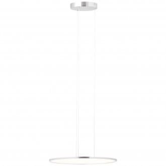 BRILLIANT G93694/13 | CeresB Brilliant függeszték lámpa rövidíthető vezeték 1x LED 3000lm 3000K szatén nikkel