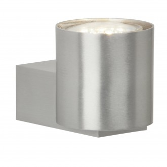 BRILLIANT G94442/21 | Izon Brilliant falikar lámpa 1x GU10 250lm 3000K alumínium