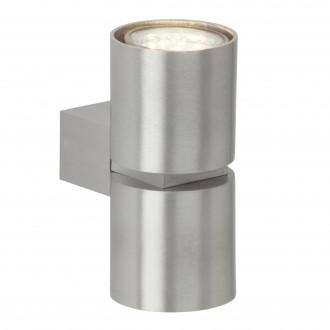 BRILLIANT G94444/21 | Izon Brilliant falikar lámpa 2x GU10 500lm 3000K alumínium