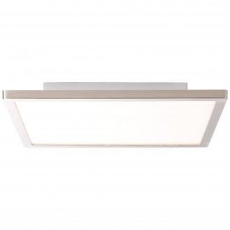 BRILLIANT G94462/13 | CeresB Brilliant mennyezeti lámpa 1x LED 1000lm 3000K szatén nikkel