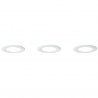 BRILLIANT G94693/05 | Tanel-WiZ Brilliant mennyezeti lámpa szabályozható fényerő, színváltós 3x LED 420lm 2700 <-> 6500K fehér