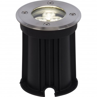 BRILLIANT G96268/82 | Derby Brilliant beépíthető lámpa Ø100mm 100x100mm 1x LED 200lm 4000K IP67 nemesacél, rozsdamentes acél