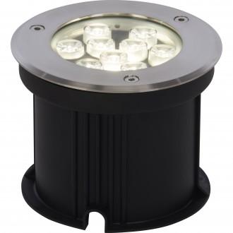 BRILLIANT G96269/82 | CarltonB Brilliant beépíthető lámpa Ø150mm 150x150mm 1x LED 650lm 4000K IP67 nemesacél, rozsdamentes acél