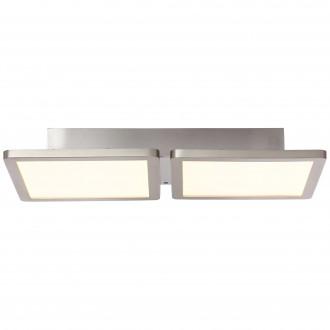 BRILLIANT G96801/68 | Scope-WiZ Brilliant mennyezeti lámpa szabályozható fényerő 1x LED 1800lm 2700 <-> 6200K matt nikkel
