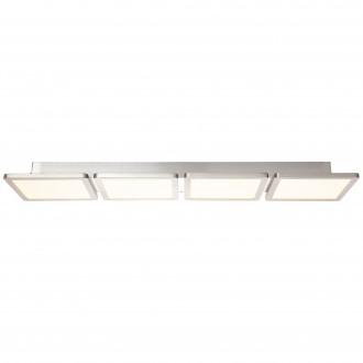 BRILLIANT G96802/68 | Scope-WiZ Brilliant mennyezeti lámpa szabályozható fényerő 1x LED 3300lm 2700 <-> 6200K matt nikkel