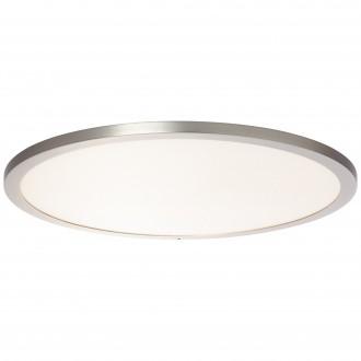 BRILLIANT G96809/68 | Smooth-WiZ Brilliant mennyezeti lámpa szabályozható fényerő 1x LED 3800lm 2700 <-> 6200K matt nikkel
