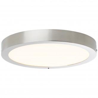 BRILLIANT G96810/68 | Katalina-WiZ Brilliant mennyezeti lámpa szabályozható fényerő 1x LED 2160lm 2700 <-> 6500K matt nikkel
