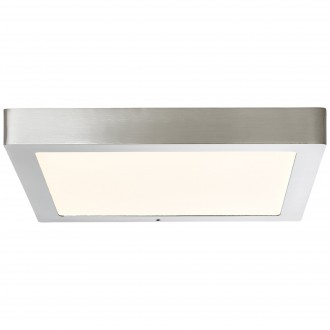 BRILLIANT G96811/68 | Jarno-WiZ Brilliant mennyezeti lámpa szabályozható fényerő 1x LED 2200lm 2700 <-> 6500K matt nikkel