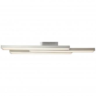 BRILLIANT G96813/68 | Sword-WiZ Brilliant mennyezeti lámpa szabályozható fényerő, színváltós 3x LED 1200lm 2700 <-> 6200K matt nikkel