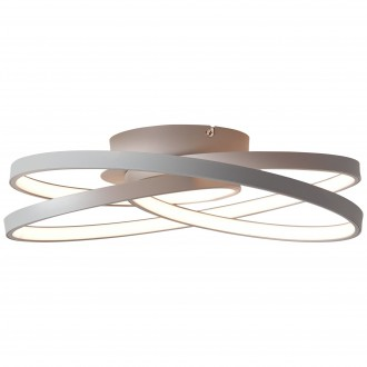 BRILLIANT G96894/22 | Labyrinth Brilliant mennyezeti lámpa 1x LED 4775lm 3000K szürke