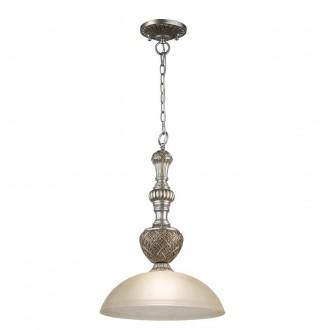 CHIARO 254015201 | Bologna-MW Chiaro függeszték lámpa 1x E27 645lm antikolt ezüst, krémszín