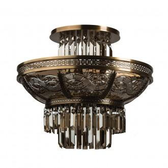 CHIARO 340011308 | Diana-MW Chiaro mennyezeti lámpa 8x E14 5160lm sárgaréz, bronz topaz