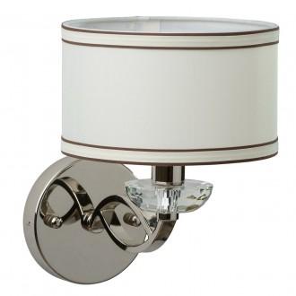 CHIARO 386025101 | Palermo-MW Chiaro falikar lámpa 1x E14 430lm króm, fehér, átlátszó