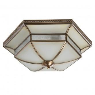 CHIARO 397010204 | Marquis Chiaro mennyezeti lámpa 4x E27 1720lm sárgaréz, átlátszó
