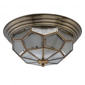 CHIARO 397010403 | Marquis Chiaro mennyezeti lámpa 3x E14 1290lm sárgaréz, átlátszó