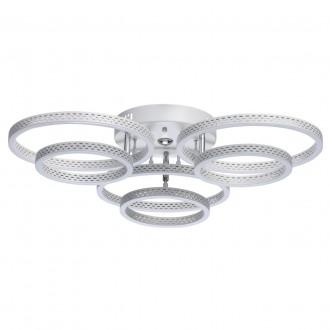 DE MARKT 496019006 | Aurich De Markt mennyezeti lámpa távirányító szabályozható fényerő, állítható színhőmérséklet 1x LED 5600lm 3000 <-> 6000K matt fehér