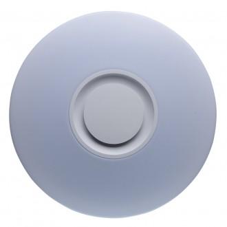 DE MARKT 660012201 | Norden De Markt mennyezeti lámpa kerek szabályozható fényerő, állítható színhőmérséklet, Bluetooth, éjjelifény 1x LED 4320lm 3000 <-> 6000K fehér, opál