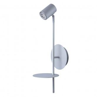 DE MARKT 661022401   Plattling De Markt spot lámpa 1x GU10 400lm 4000K szatén ezüst
