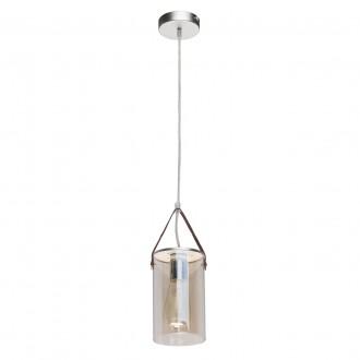 DE MARKT 673014801 | Alpha-MW De Markt függeszték lámpa 1x E27 430lm ezüst, pezsgő