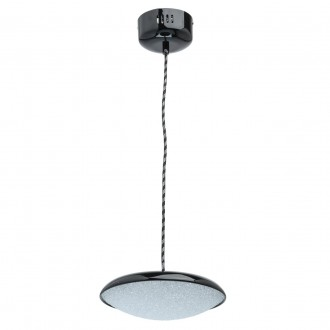 DE MARKT 703011201 | Omega-MW De Markt függeszték lámpa 1x LED 800lm 3000K fekete, kristály hatás