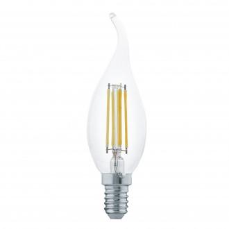 EGLO 11497 | E14 4W -> 30W Eglo dekor gyertya FC35 LED fényforrás filament 350lm 2700K 360° CRI>80