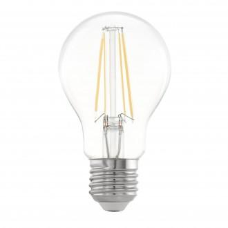 EGLO 11501 | E27 5W -> 48W Eglo normál A60 LED fényforrás filament 600lm 2700K 360° CRI>80