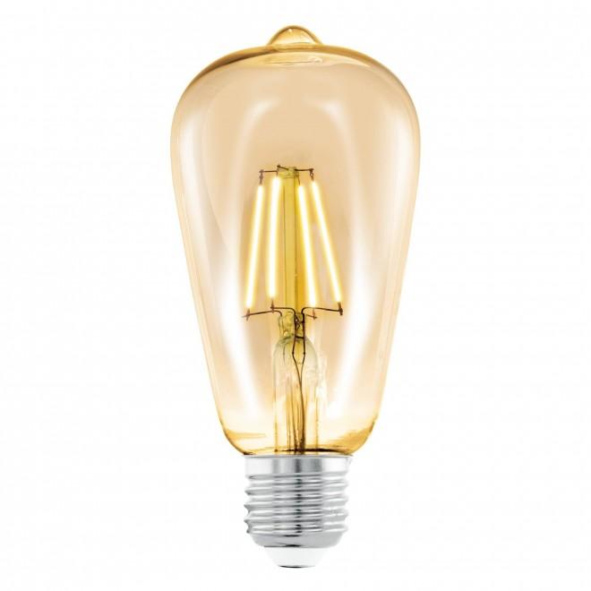 EGLO 11521 | E27 4W -> 22W Eglo Edison ST64 LED fényforrás filament 220lm 2200K 360° CRI>80