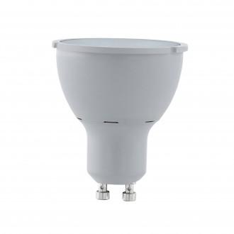 EGLO 11541 | GU10 5W -> 65W Eglo spot LED fényforrás Step Dim. 400lm 3000K szabályozható fényerő impulzus kapcsoló 30° CRI>80